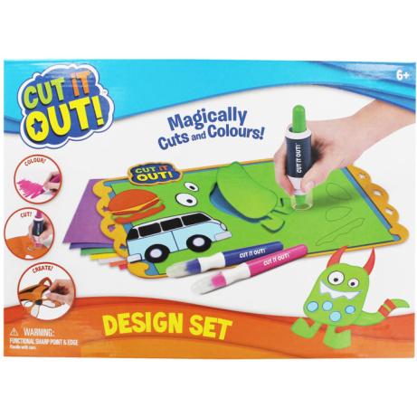OVER 75% OFF - Cut It Out Design Set!