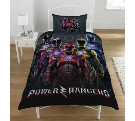 Power Rangers Movie Bedding Set - NOW £13.99!