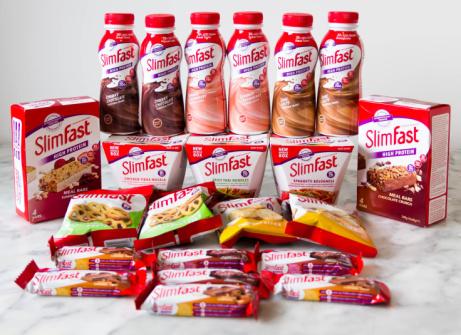 Buy 1 get 2nd 1/2 price on selected SlimFast!