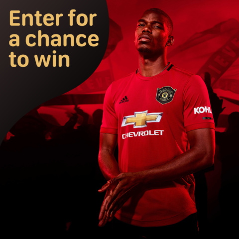 WIN- Manchester United 2019-2020 Home Shirt