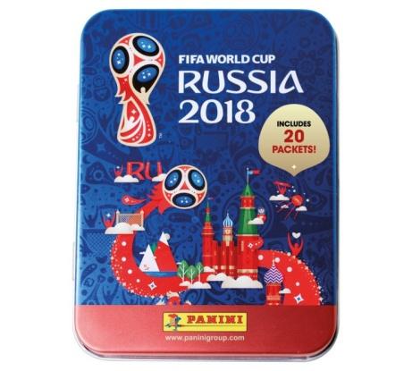 17% OFF - Panini 2018 FIFA World Cup Sticker Collection Mega Tin