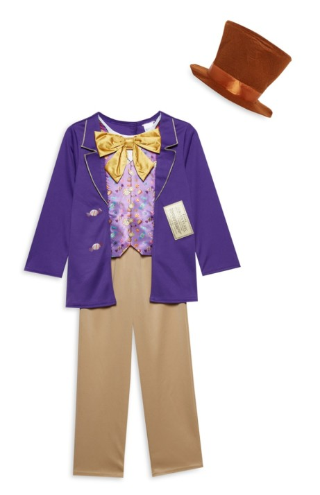World Book Day - Willy Wonka Outfit - £12