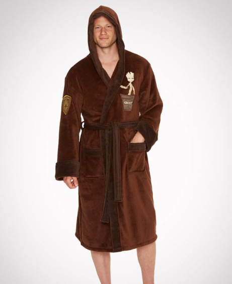 £15 OFF - GUARDIANS OF THE GALAXY GROOT BATHROBE!