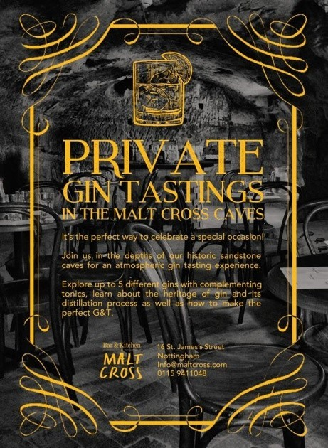 Our public gin tasting sessions are now sold out until August, BUT you can still visit the caves!
