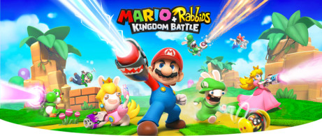 SAVE £15.00 Mario and Rabbids Kingdom Battle!