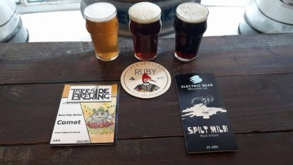 We don't like to brag......BUT.....We think this is a fantastic selection of beers fresh on today!