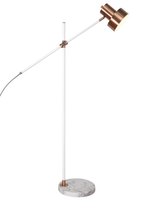 20% OFF all lighting at Matalan - Including: Rossa Copper Task Floor Lamp SAVE £30.00!
