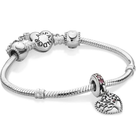 PANDORA HEARTS OF LOVE BRACELET - SAVE £31.00!