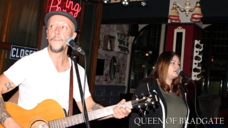 Here's a snap from our past open mic night hosted by Benn and Harriett