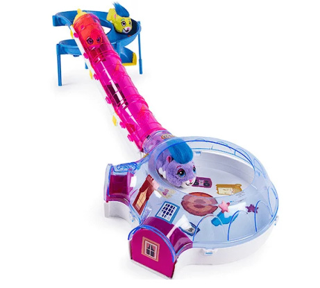 SAVE OVER 65% on this Zhu Zhu Hamster House Playset!