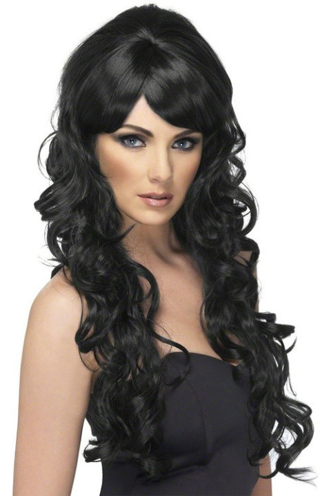 HALLOWEEN - George Adult Curly Hair Wig £4.00!