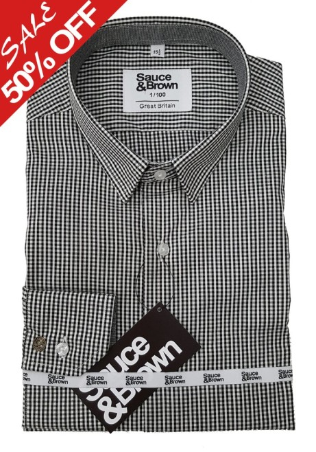 50% off this Men's Felley Check Shirt