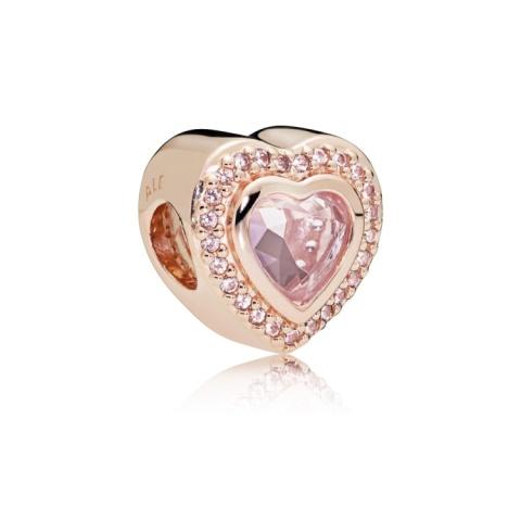 NEW - PANDORA ROSE SPARKLING LOVE CHARM £80.00!