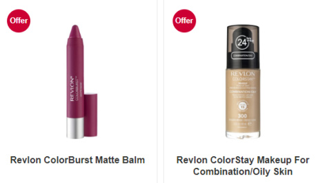 SAVE 1/3 on selected Revlon products!