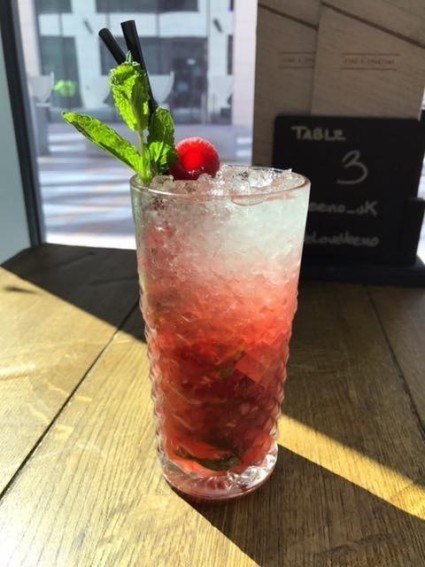 Have you tried our wonderful new ITALIAN PROSECCO MOJITO?