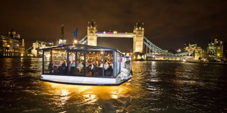SAVE 25% on Bateaux London Dining Cruises!