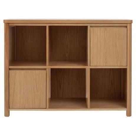 50% OFF this Jasper Oak Small Bookcase!