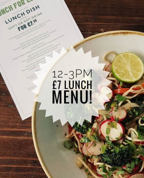 Have you tried our new Lunch for Less Menu?! Available between 12pm-3pm.