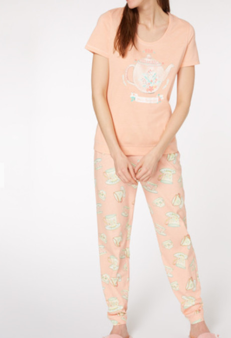 Get these 'Mum, You're Tea-rrific' Pyjamas for ONLY £4!