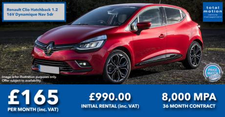 Renault Clio Leasing Offer
