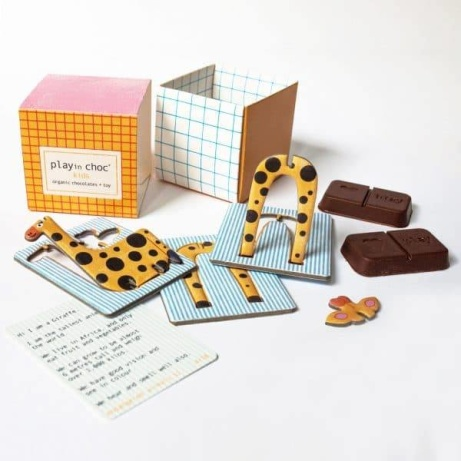 We have the cutest chocolate gift in our Leicester store for little ones!