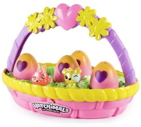 EASTER TREATS! Hatchimals CollEGGtibles Spring Basket - ONLY £19.99