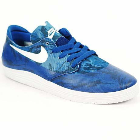 Save £25 on these Nike SB Lunar OneShot Royal- White