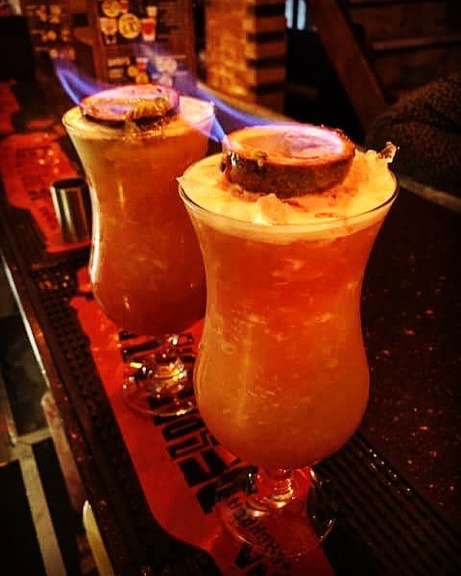 Check out these fiery Zombie Cocktails!