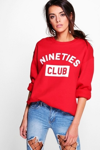 SAVE 50% OFF Penny Slogan Sweatshirt!