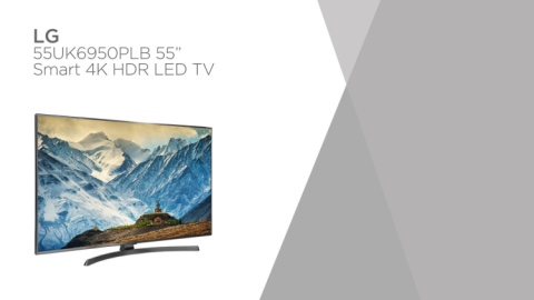 "SALE, SAVE £250.00 - LG 55"" Smart 4K Ultra HD HDR LED TV!"