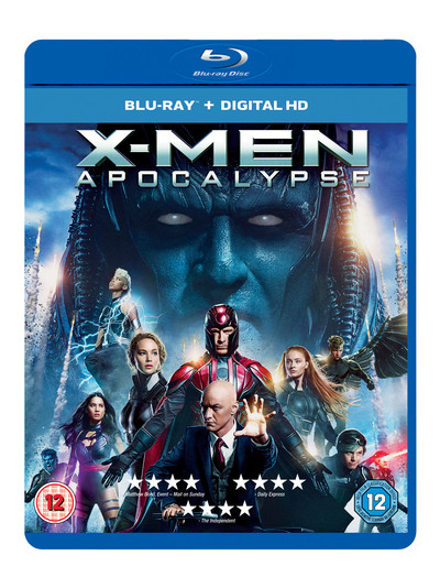 X-Men: Apocalypse on Blue Ray for only £4.49