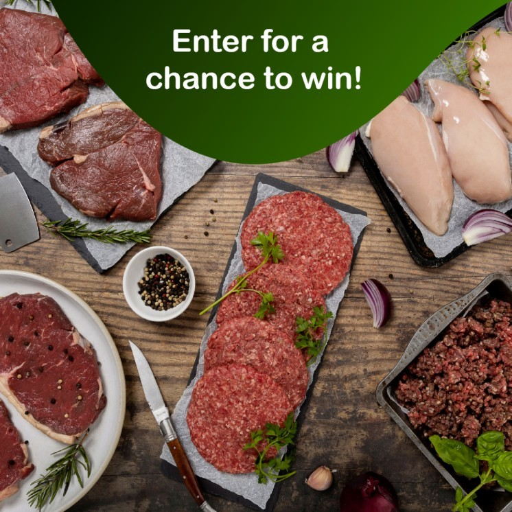 WIN the Fresh Lean Meatbox - Packed with steak, burgers, chicken and more!