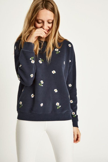 SENNEN EMBROIDERED SWEATSHIRT £69.95!