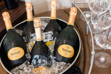 Shop Champagne online today: The R de Ruinart NV bottle for just £52.50!