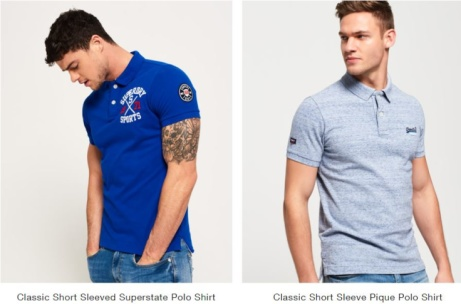 Superdry Mens Polo 2 FOR £55