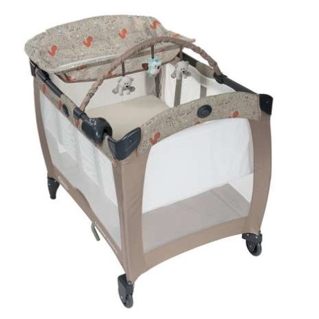 SAVE 30% OFF Graco Contour Electra Travel Cot in Woodland Walk!