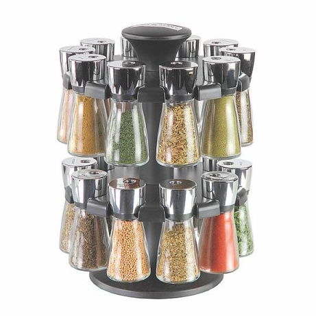 SAVE 20% OFF Cole & Mason 20 Jar Herb and Spice Carousel!