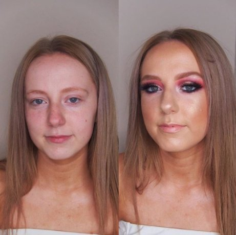 It's Prom Season - how stunning is this before and after?! Book now for your transformation...
