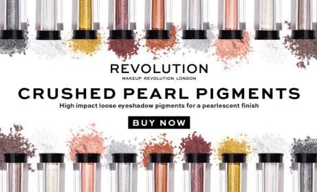 NEW! Revolution Crushed Pearl Pigments ONLY £4!