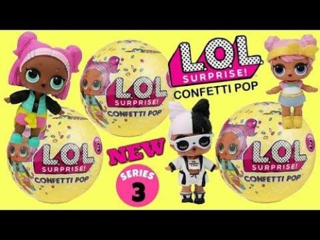 L.O.L Surprise Confetti Pop Series 3 and Little Sisters Series 2! NOW IN!!!