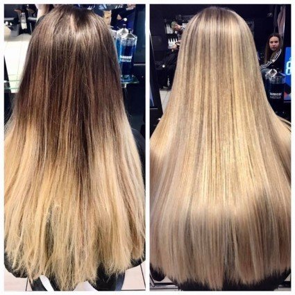 Gorgeous long hair - back to blond - By Edyta.