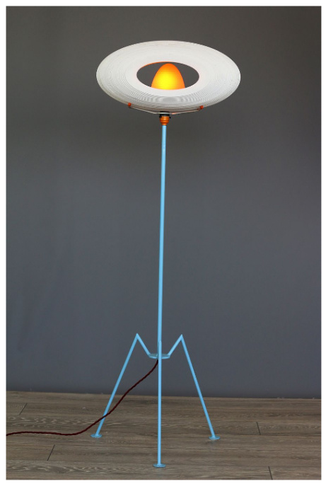 War of the Worlds inspired lamp: £395.00!