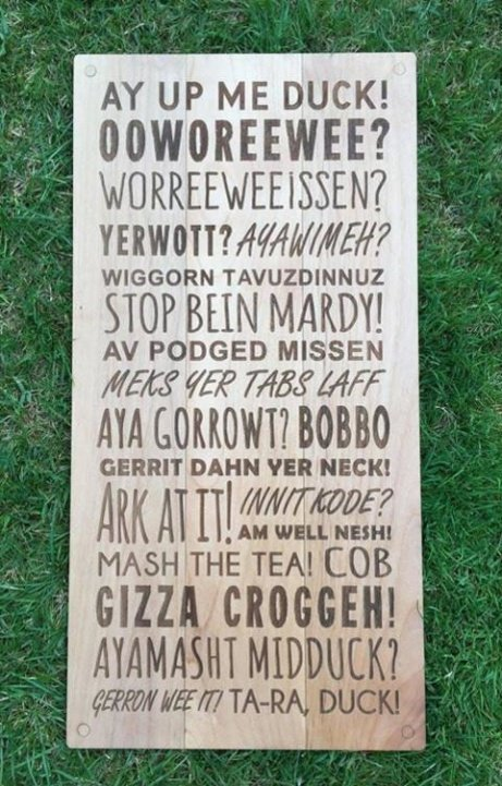 Get these household Engraved Wooden Phrase Plaques for just £35.00!