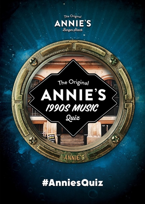 The specialist subject in Annies Quiz on Tuesday 18th June is 1990s Music!