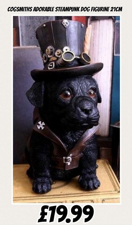 Cogsmiths adorable dreamland dog figurine