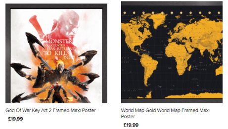 Framed Posters - ONLY £19.99!!