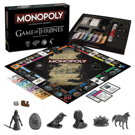 SAVE £23.00 - Monopoly; Game of Thrones Deluxe Edition!
