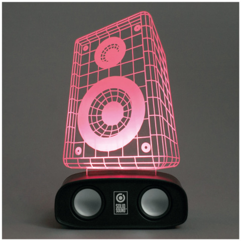 SALE, WITH AN EXTRA 30% OFF - Sound Reactive Speaker - Speaker!