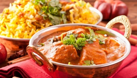 Treat yourself to a curry night!