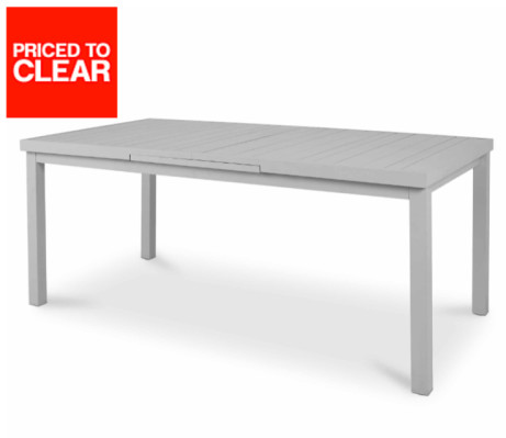 CLEARANCE! 6 SEATER EXTENDABLE DINING TABLE - SAVE £220!